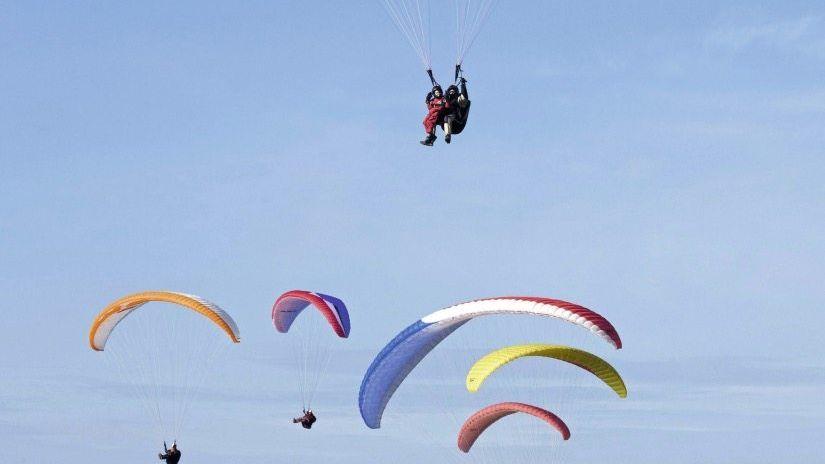 Gleitschirmflieger bei Calais: Zuruf über 220 Meter?