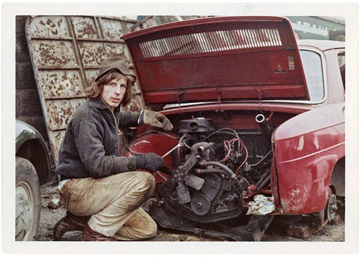 In den Siebzigerjahren schraubte Daum noch an Autos, nicht an der Leistungsausdauer seiner Spieler