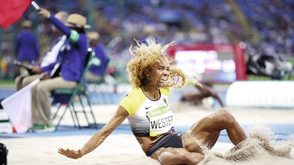 Weitspringerin Alexandra Wester in Rio