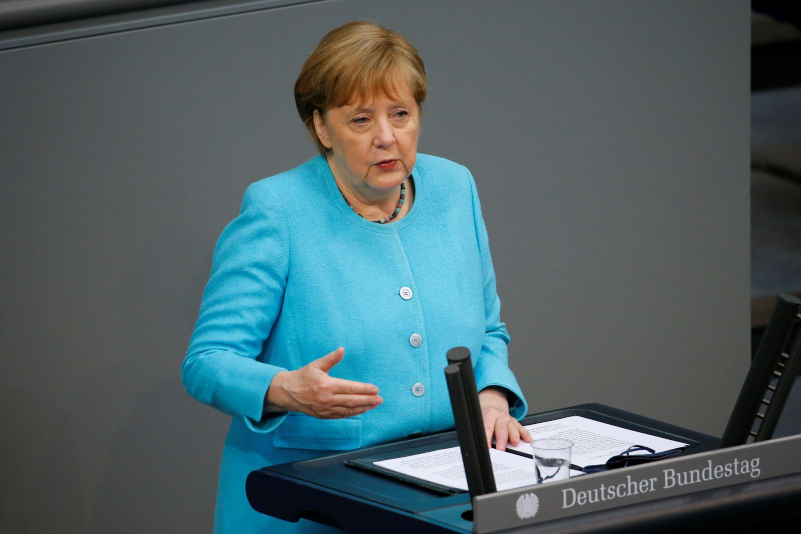 German government declaration on the upcoming European Council meeting at the Bundestag in Berlin