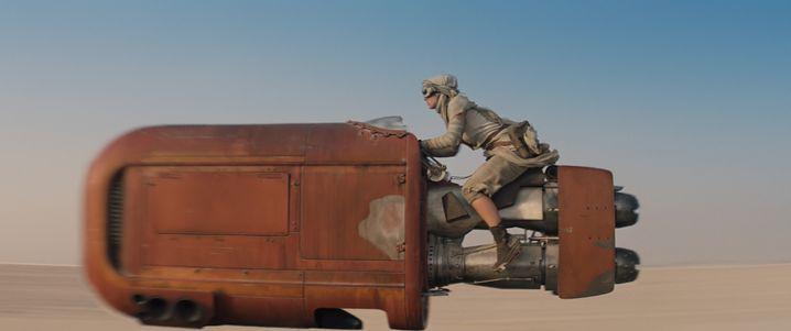 """Szenenbild aus """"Star Wars: Das Erwachen der Macht"""""""