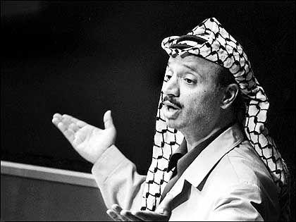 Arafat: Wie der Todeskampf so war auch sein Leben
