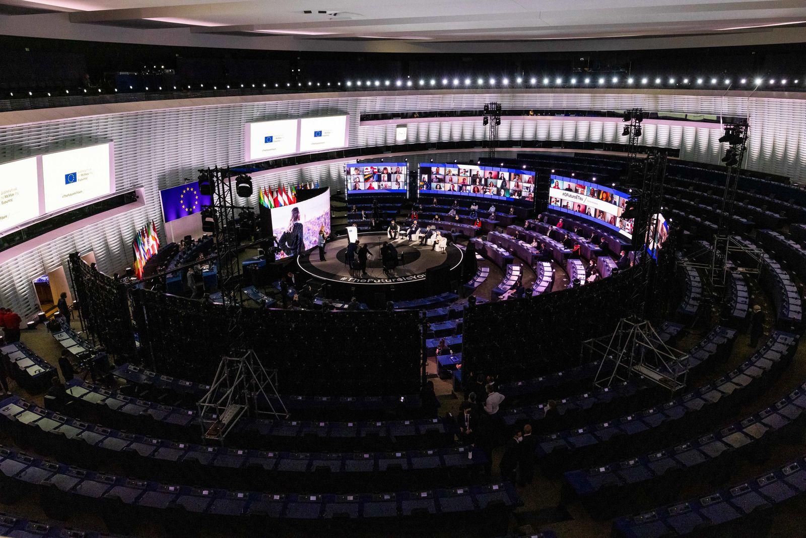 Eröffnung der Konferenz zur Zukunft Europas