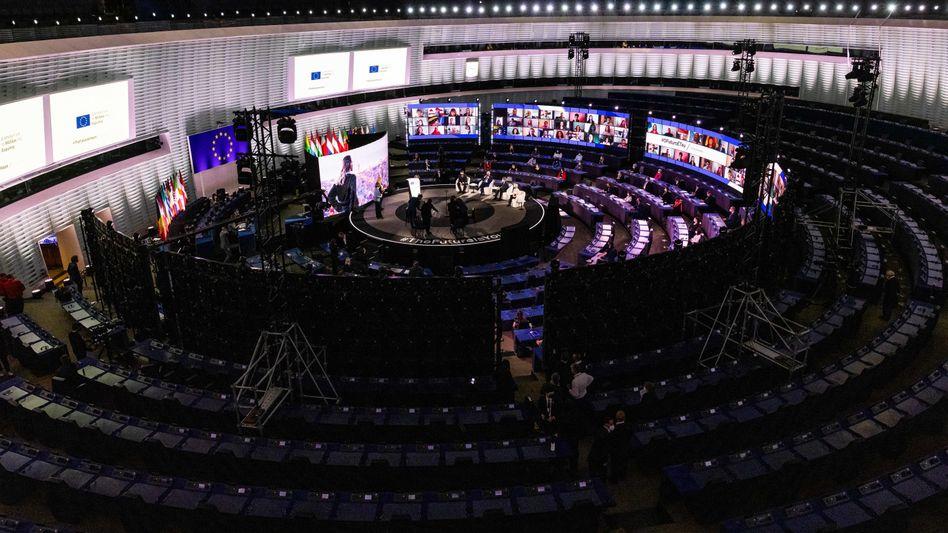 Europaparlament in Straßburg (Archivbild)