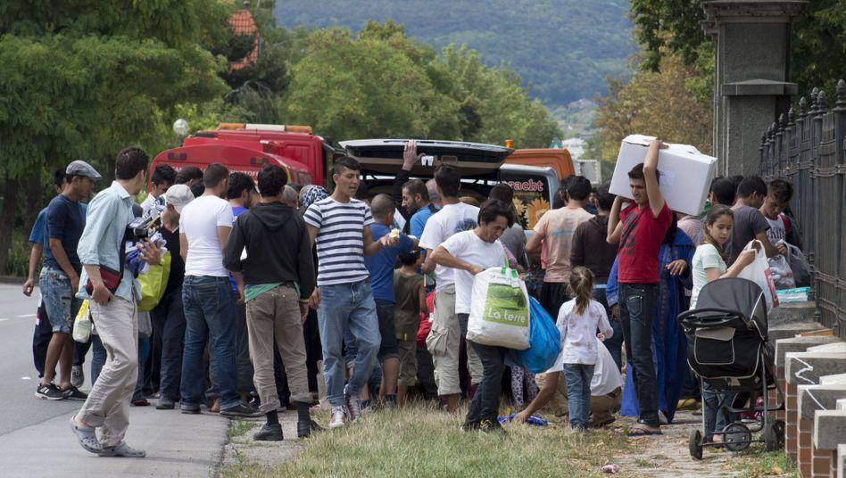 Flüchtlingsheim (im österreichischen Traiskirchen): Gewalt an der Tagesordnung