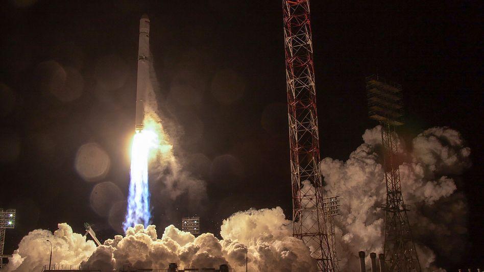 Start des Satelliten am 27. Dezember