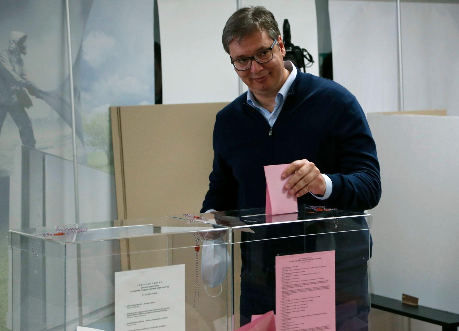 Serbia Election