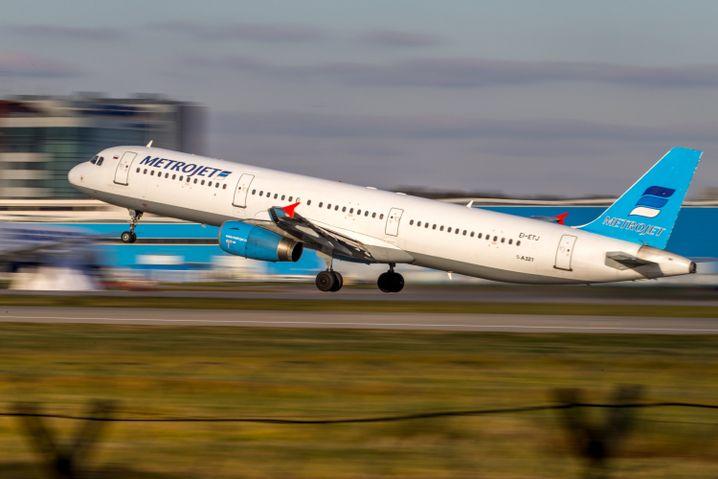 Maschine der Kogalymavia-Airline (am 20. Oktober in Moskau): Kontakt verloren