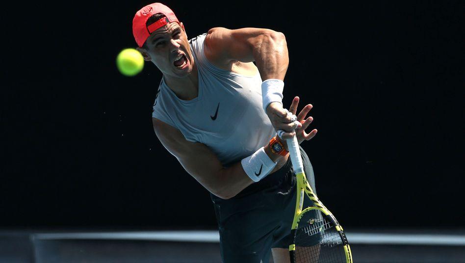 Australian Open: Nadal souverän, Stebe im Pech
