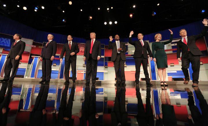 Republikanische Rivalen (November 2015)