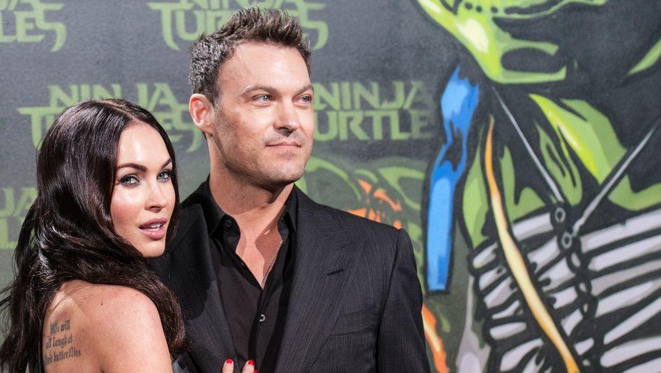 Brian Austin Green und Megan Fox