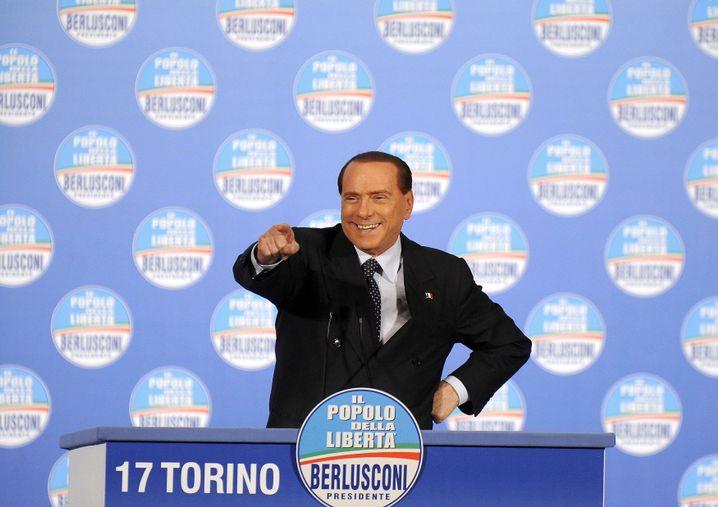 Silvio Berlusconi: Schrecken der Finanzmärkte
