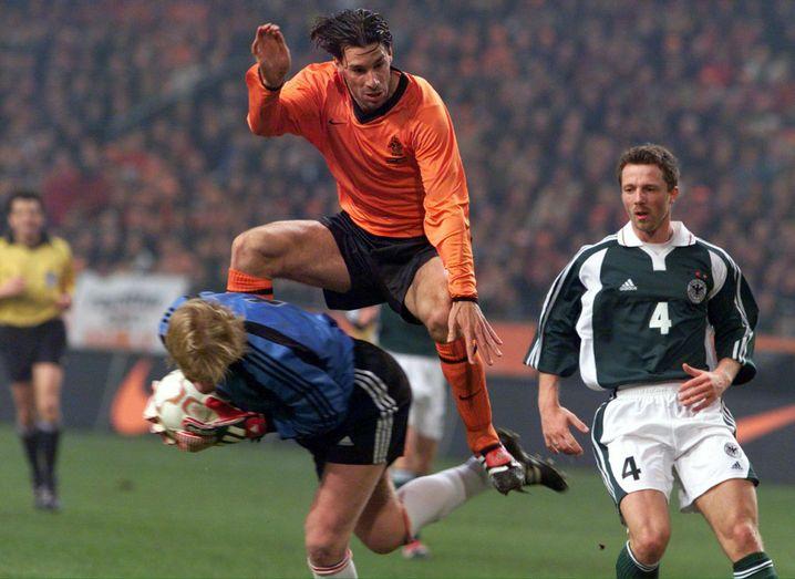 Ruud van Nistelrooy und Oliver Kahn