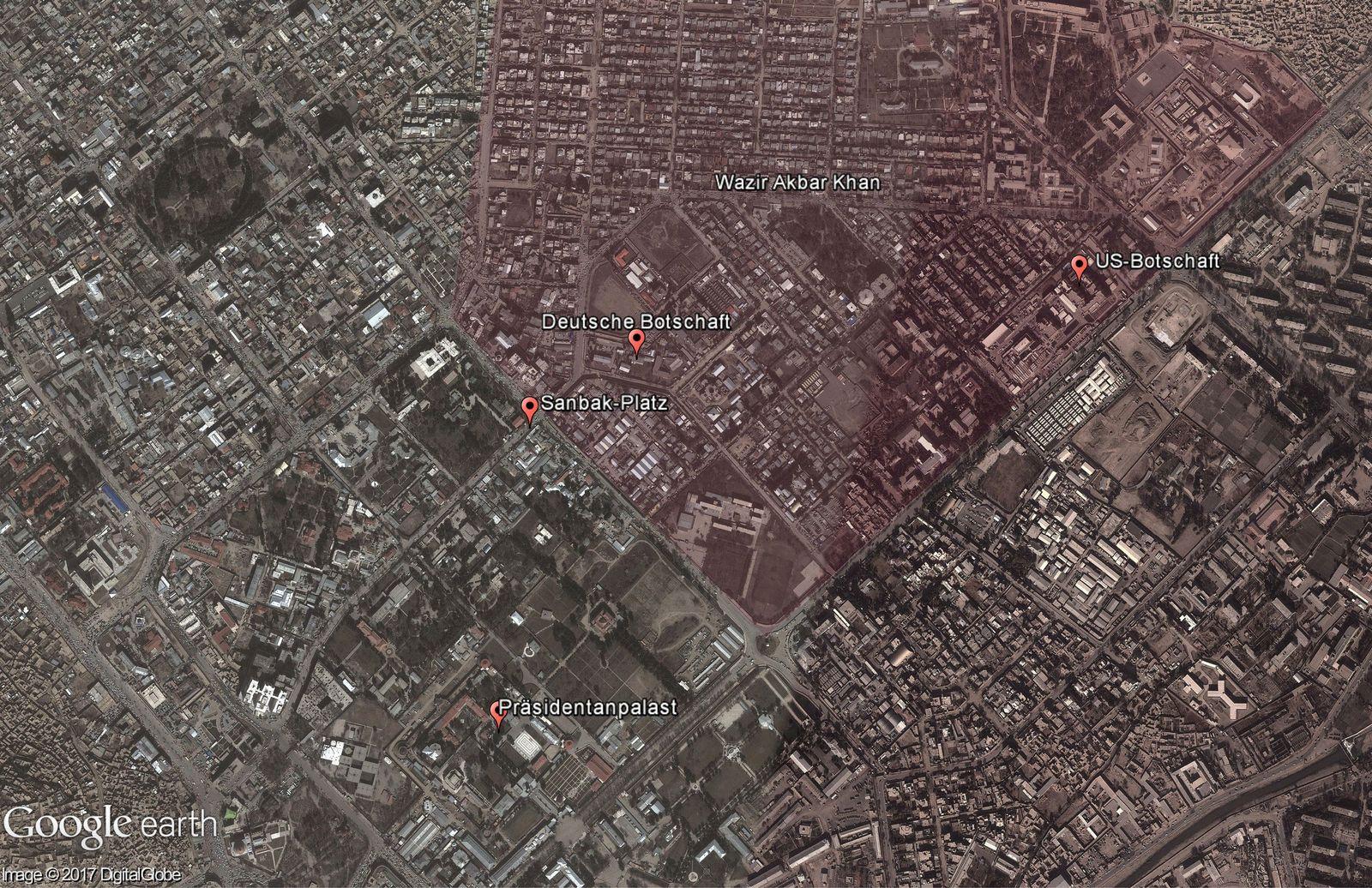 Kabul / Explosion