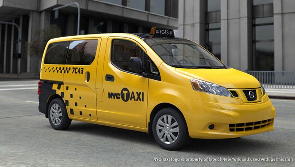 Neues New York Taxi: Ein Nissan macht das Rennen