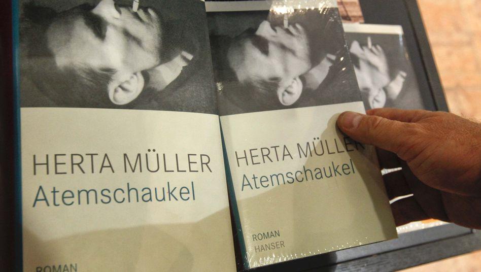 Nobelpreis für Literatur: Herta Müllers Bücher erobern die Verkaufcharts.