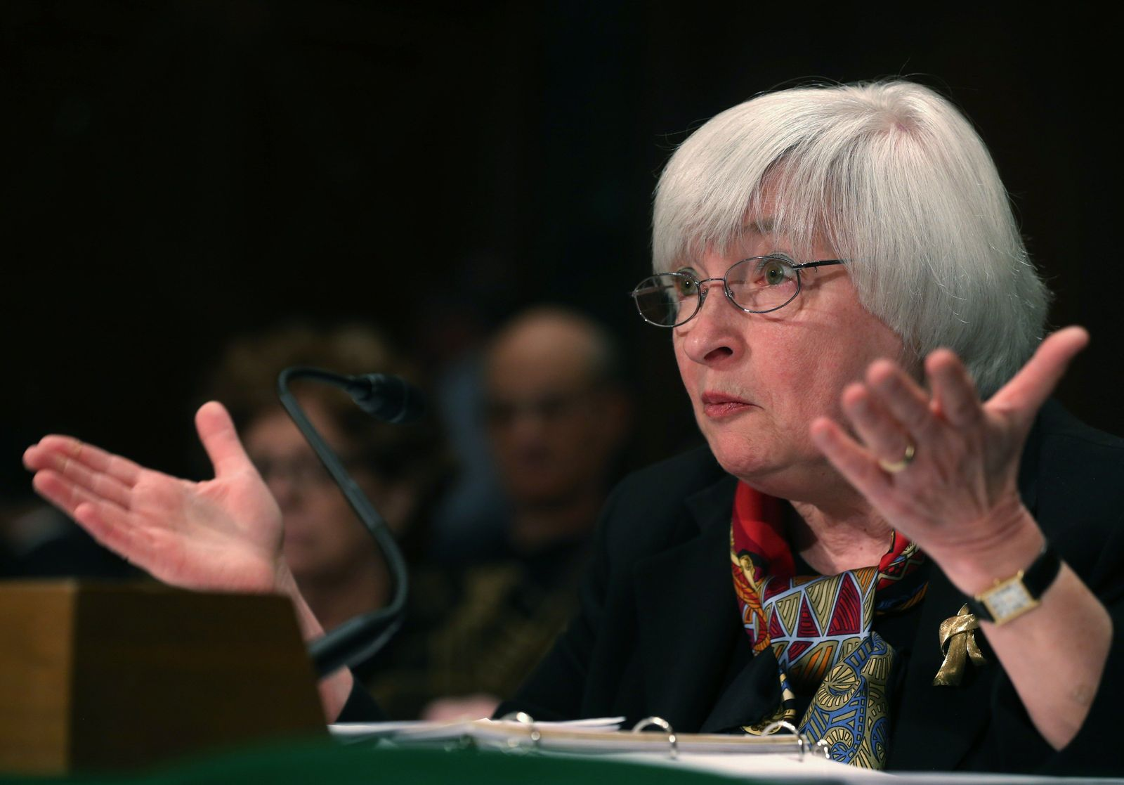 US-FED-CHAIR-JANET-YELLEN-TESTIFIES-TO-SENATE-HEARING-ON-THE-SEM