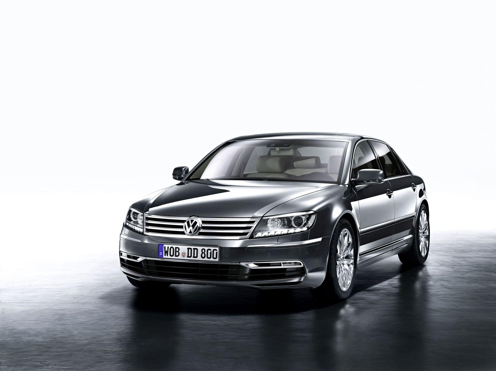 Deutscher Luxus in China / VW Phaeton