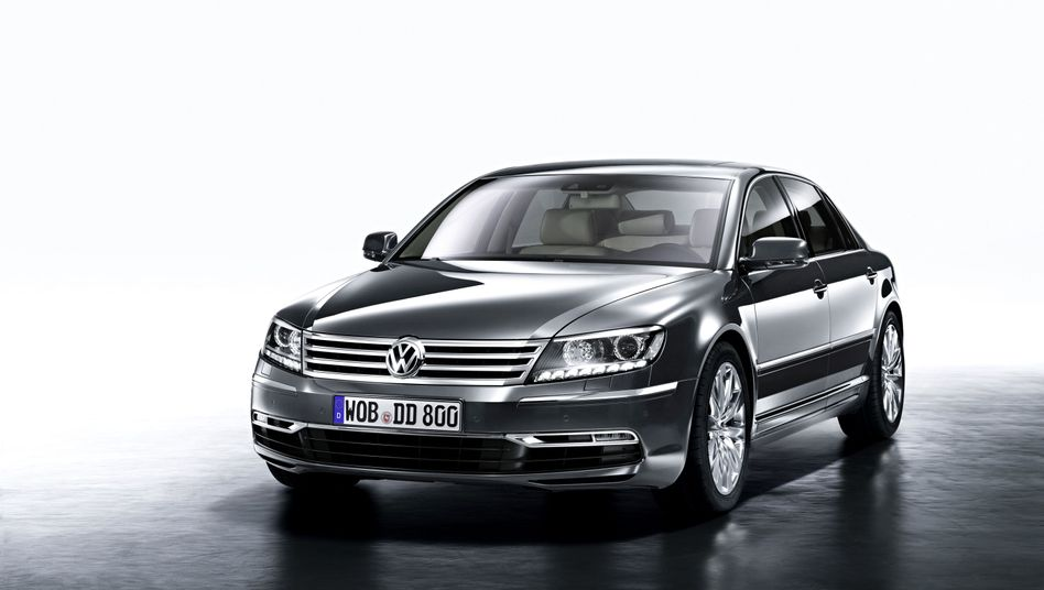 VW Phaeton: Nachfolgemodell höchstens mit Elektroantrieb