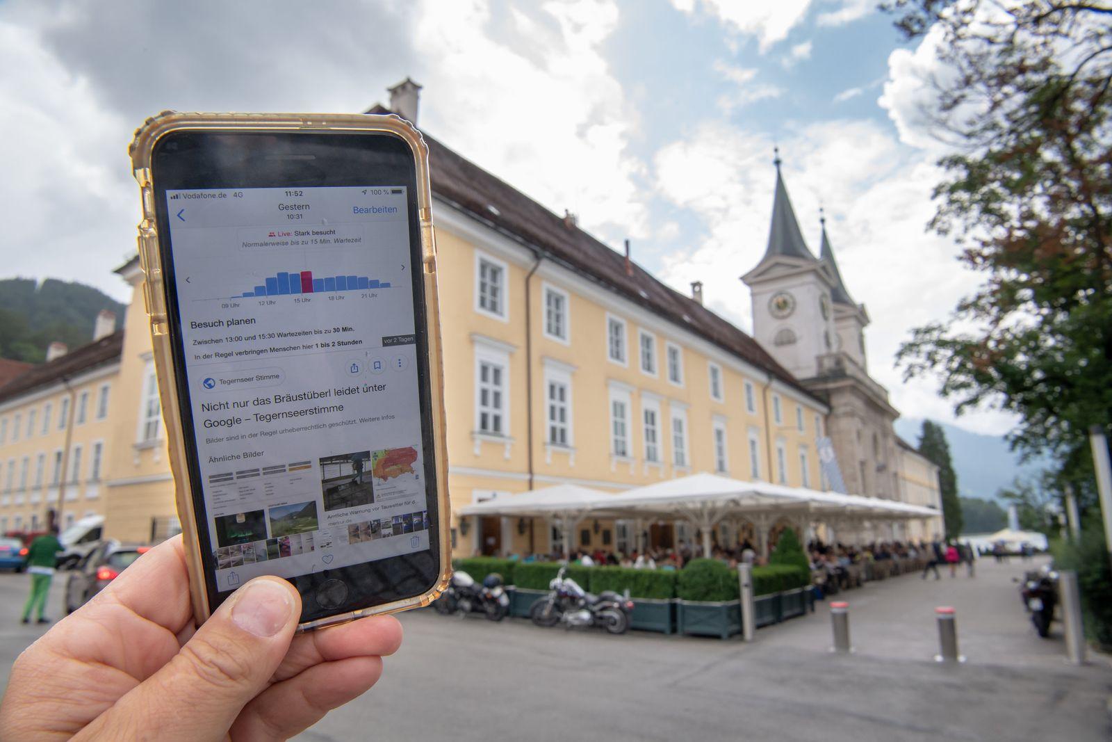 Bräustüberl gegen Google: Sitzplatzstreit am Tegernsee