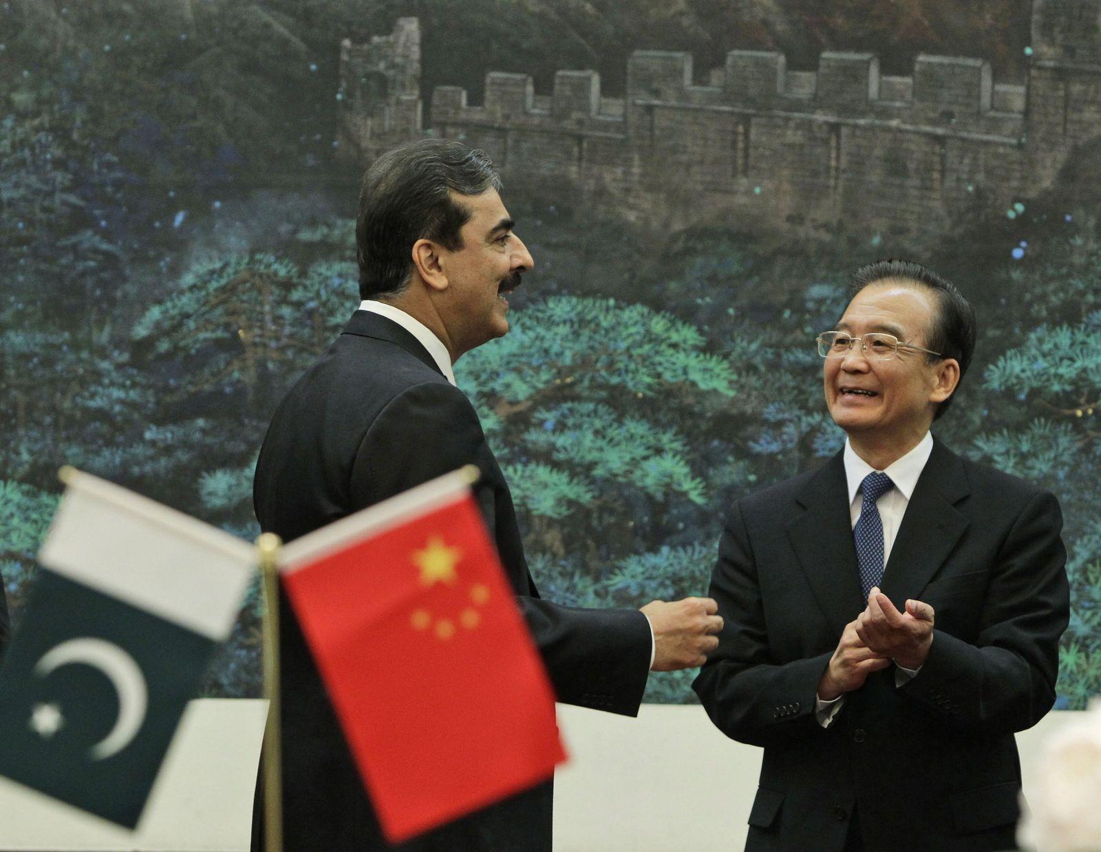 China / Pakistan / Galani / Jiabao