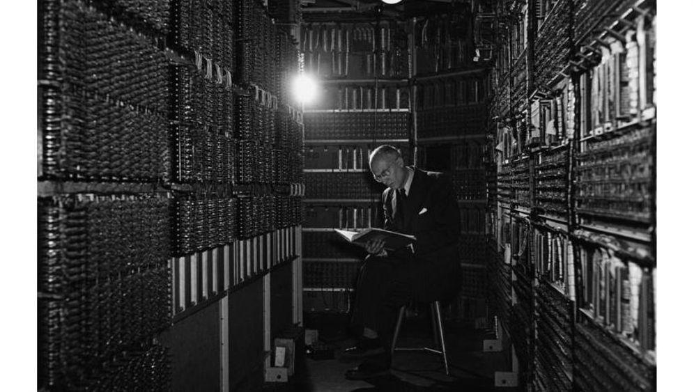 Erster DDR-Computer: Mit diesem Monstrum konnte man rechnen