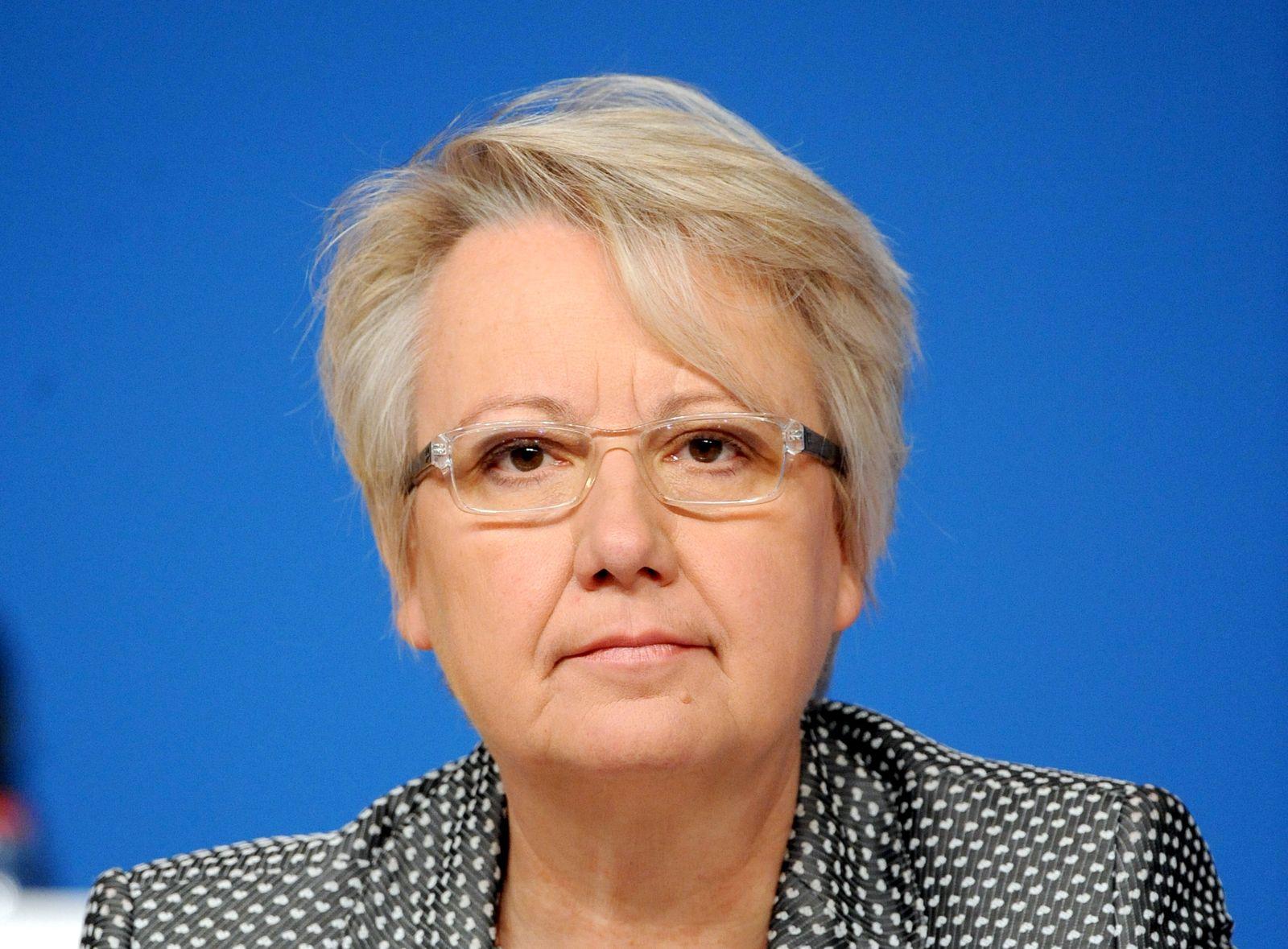 Kabinett Grafik / Schavan