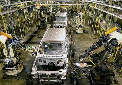Ford-Produktion (in Louisville, Kentucky): Neue niedrigere Lohngruppen