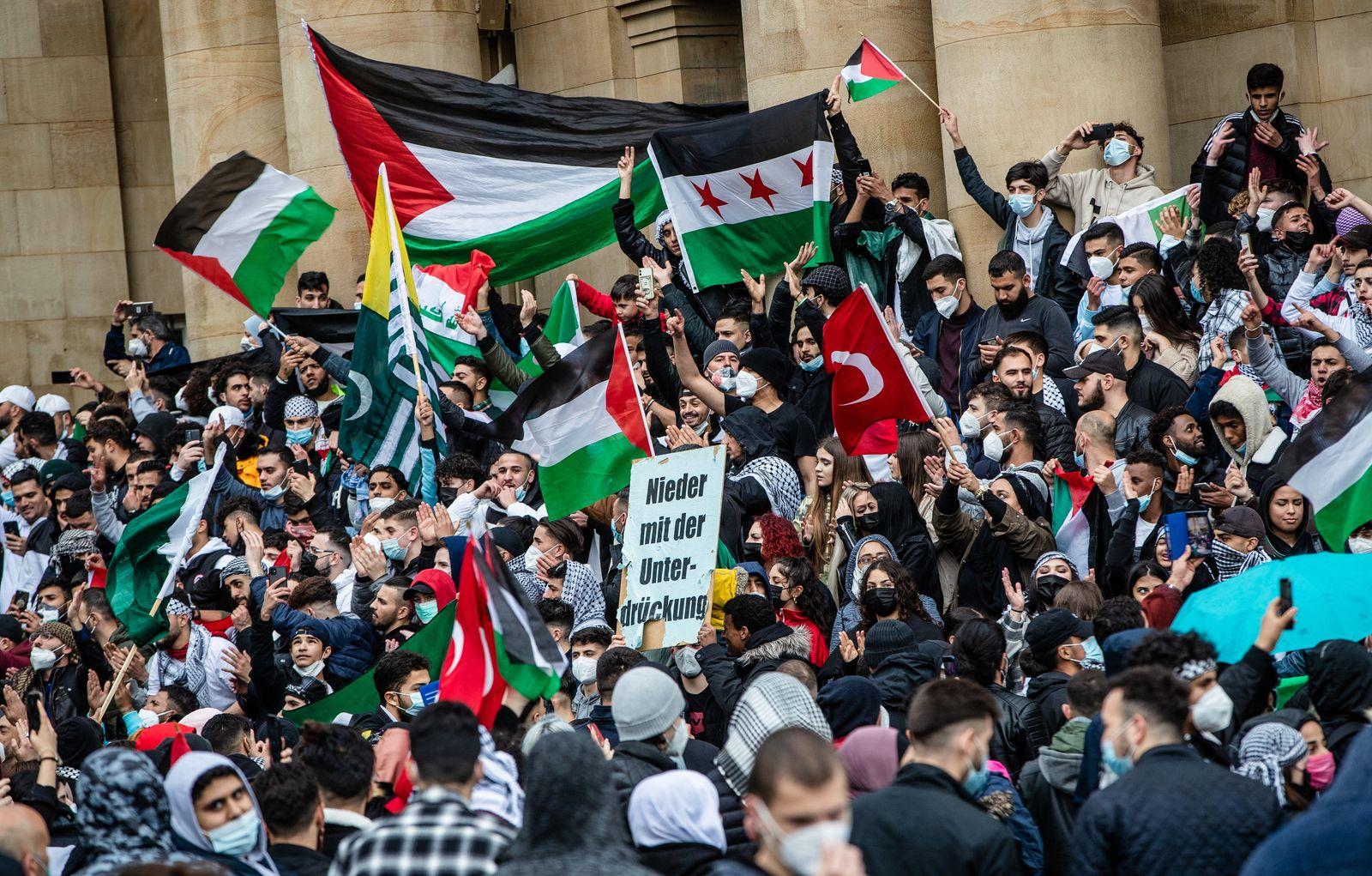 Pro-Palästinensische Demonstrationen - Stuttgart
