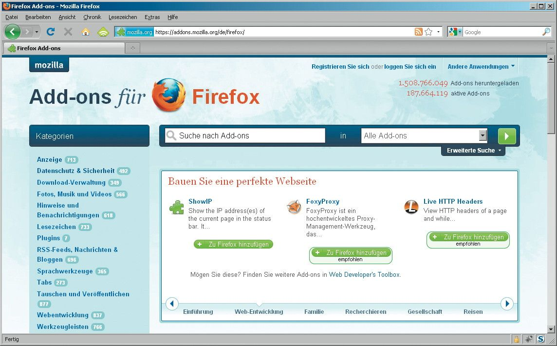 NUR ALS ZITAT Screenshot / KOOP CT / Browserfenster / Erweiterungen DWO #1