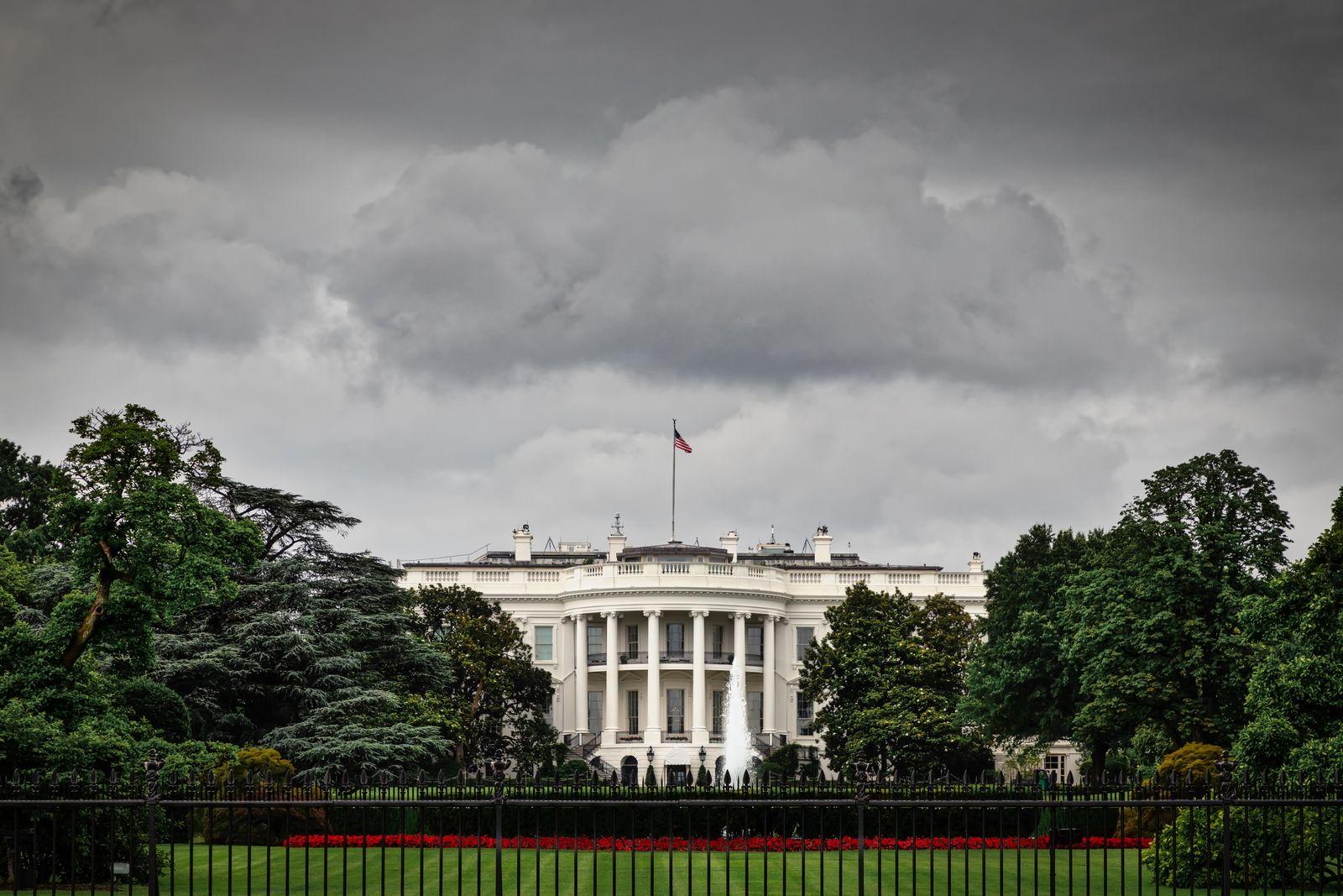 EINMALIGE VERWENDUNG Weißes Haus