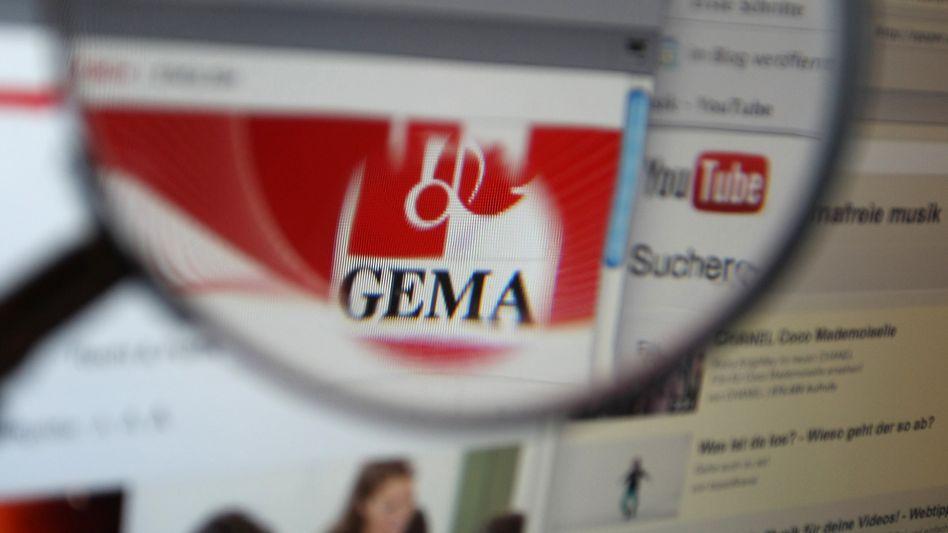 Die Internetseiten von YouTube und der Gema: Streitwert von1,6 Millionen Euro ist hinfällig