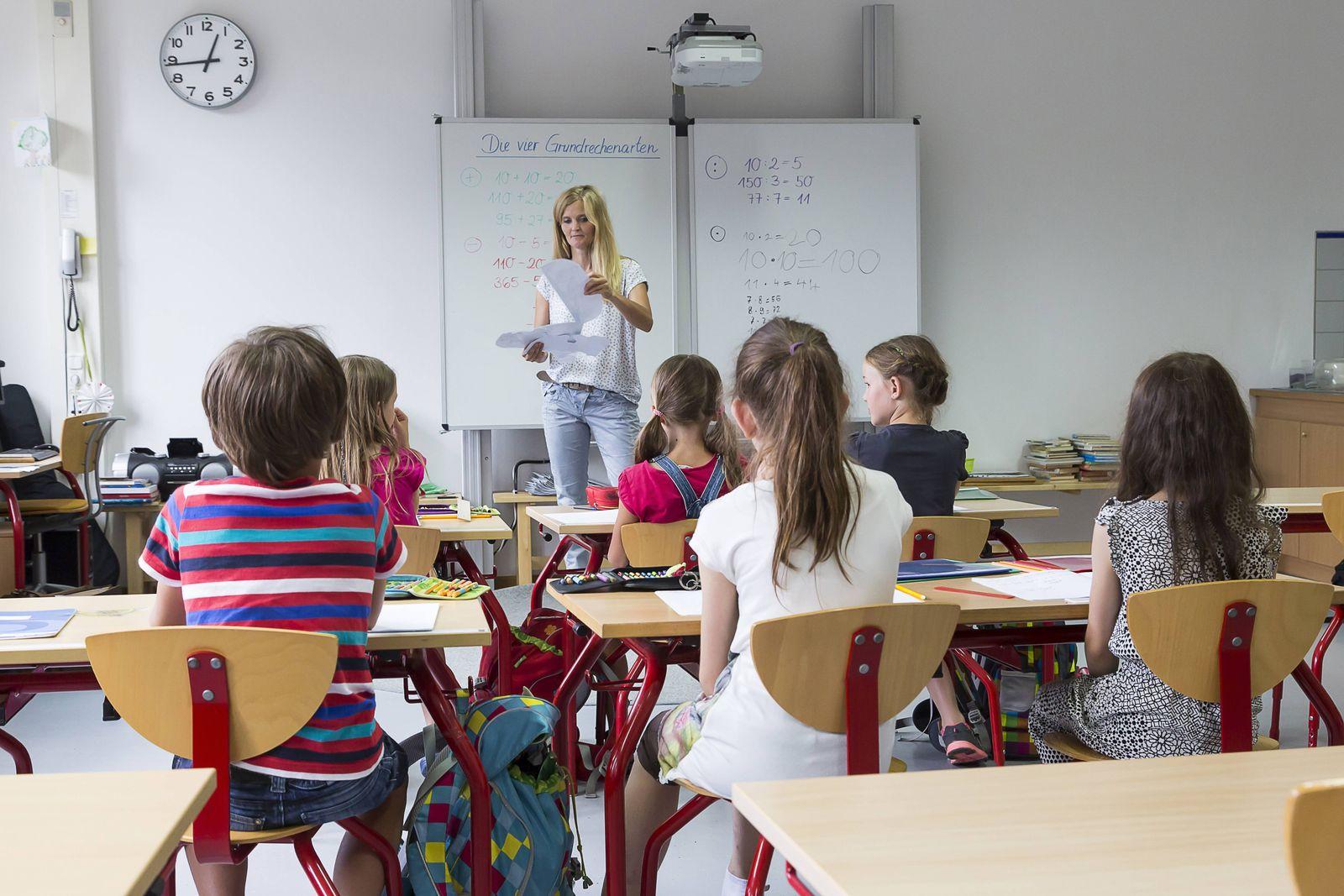 EINMALIGE VERWENDUNG Schulklasse