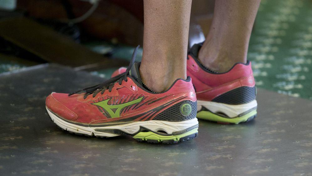 Wendy Davis: Der Wendy-Davis-Laufschuh-Hype
