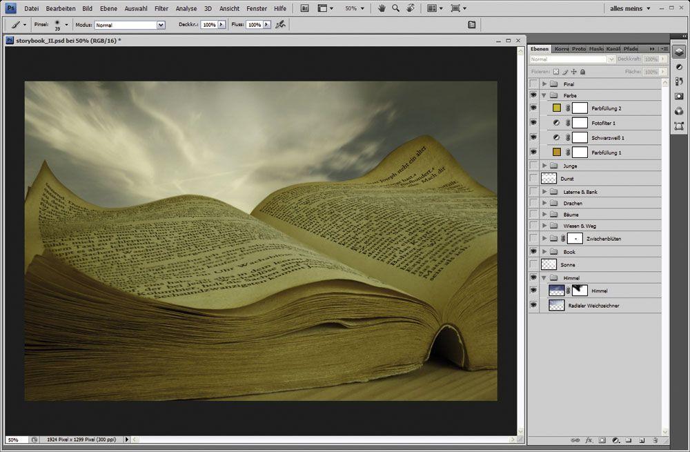 EINMALIGE VERWENDUNG Docma 36 Storyboard / Koop