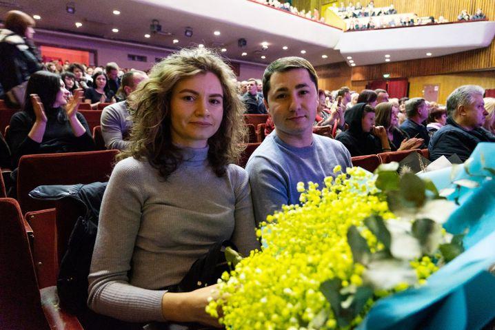Anastasia und Stanislaw Wydra in Bila Tserkwa