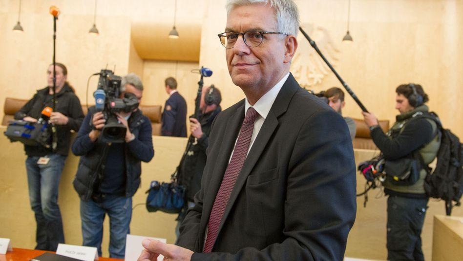 ZDF-Intendant Thomas Bellut in Karlsruhe: Macht der sogenannten Freundeskreise