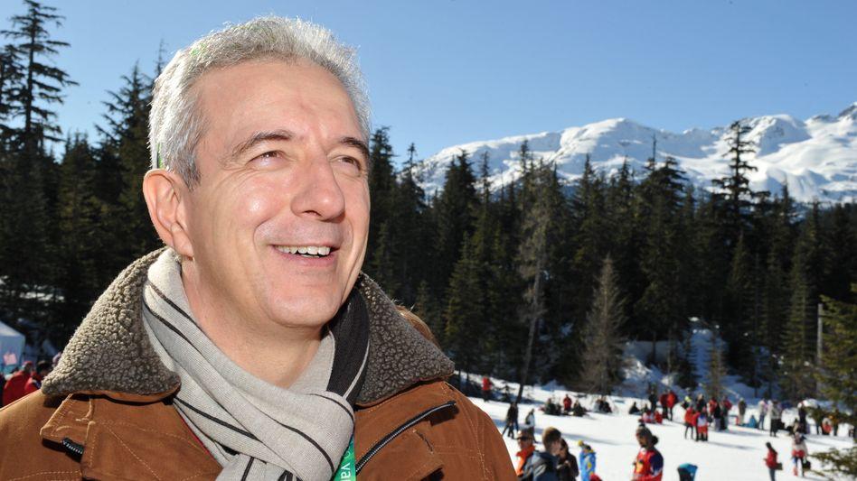 Stanislaw Tillich in Whistler: Mit der Entspannung war es am Wochenende vorbei