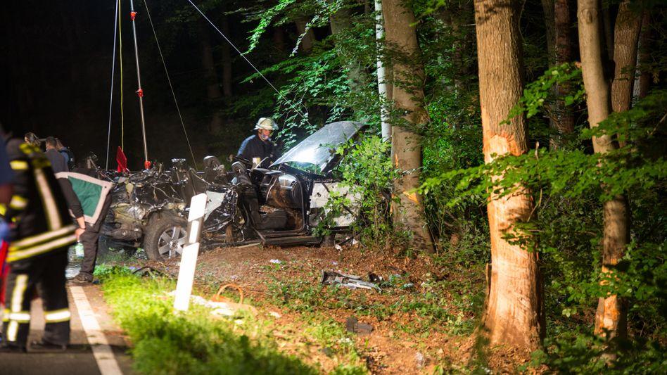 Autounfall in Hofheim am Taunus: »Mir fehlen die Worte für das, was passiert ist« (Archivbild)