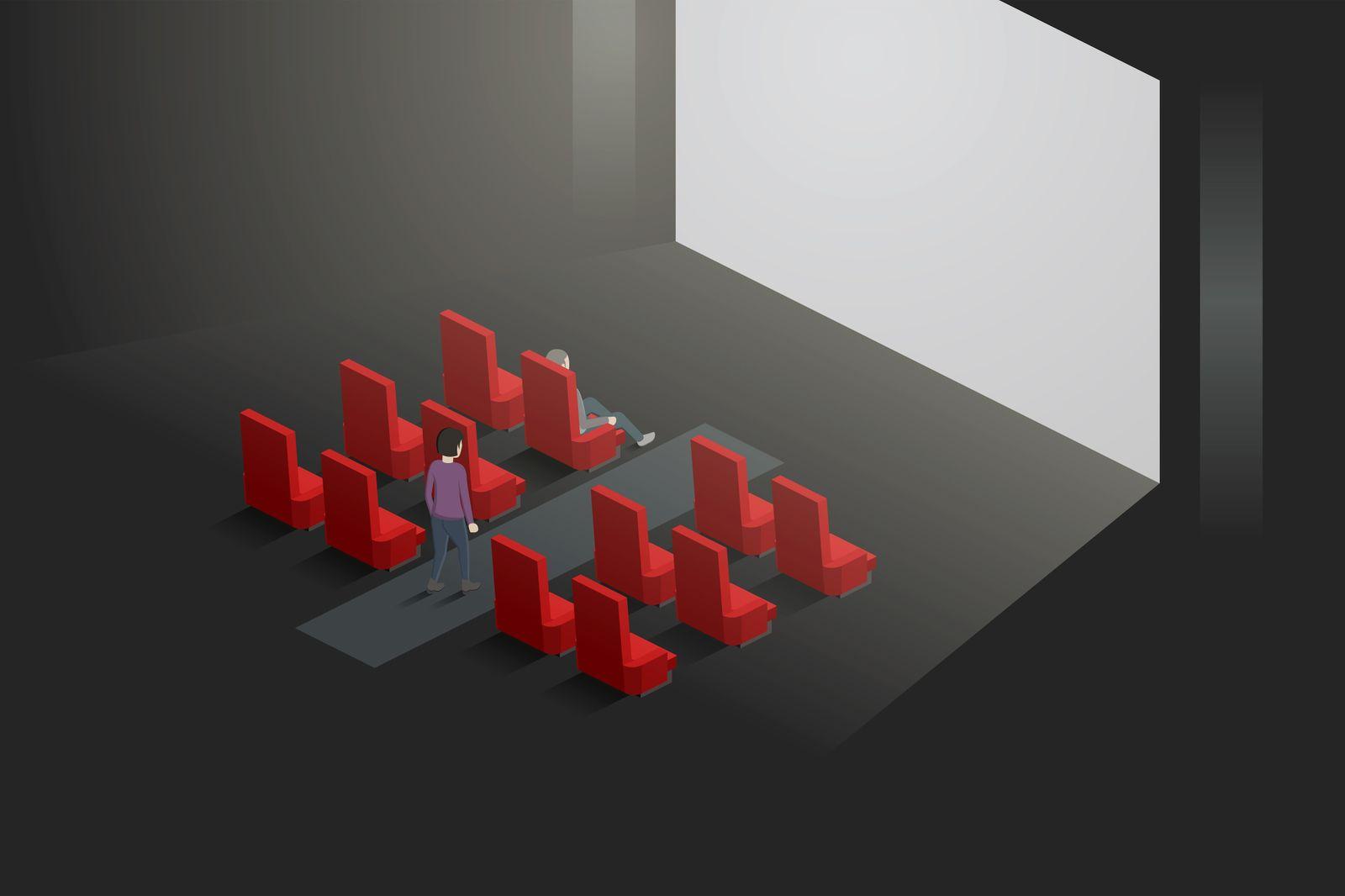 Kino Vektorgrafik