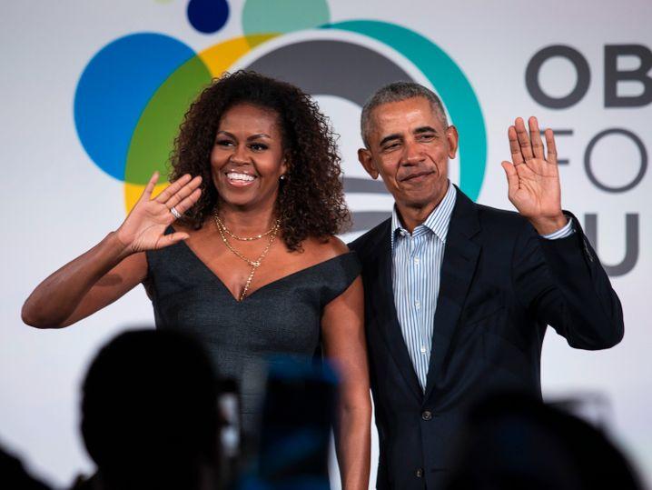 Michelle und Barack Obama sind wichtige Wahlhelfer für Joe Biden.