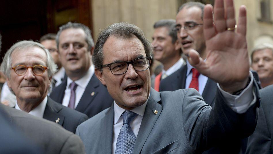 Kataloniens Präsident Artur Mas im Wahlkampf: Abstimmung im November