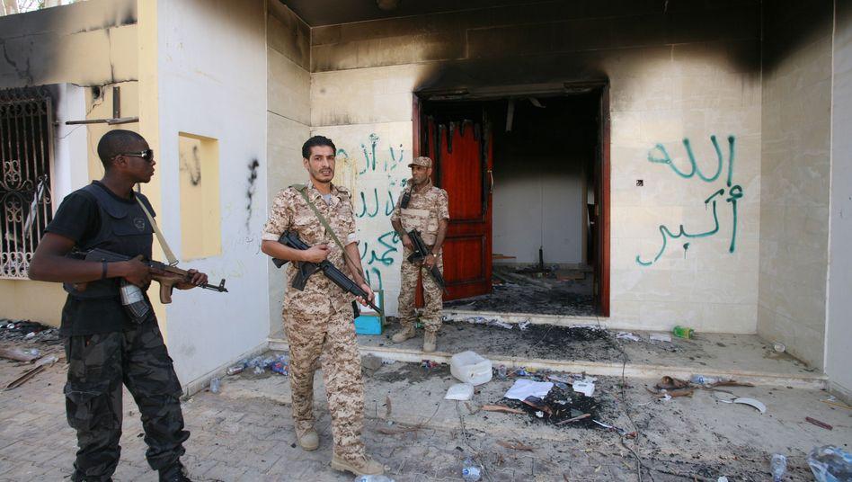 """Attackiertes US-Konsulat in Bengasi: """"Alle wichtigen Entscheidungen vor Ort getroffen"""""""