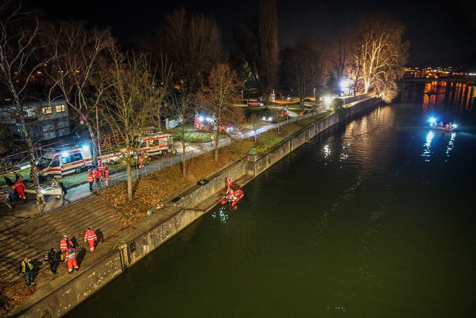 Mann tot aus dem Neckar geborgen