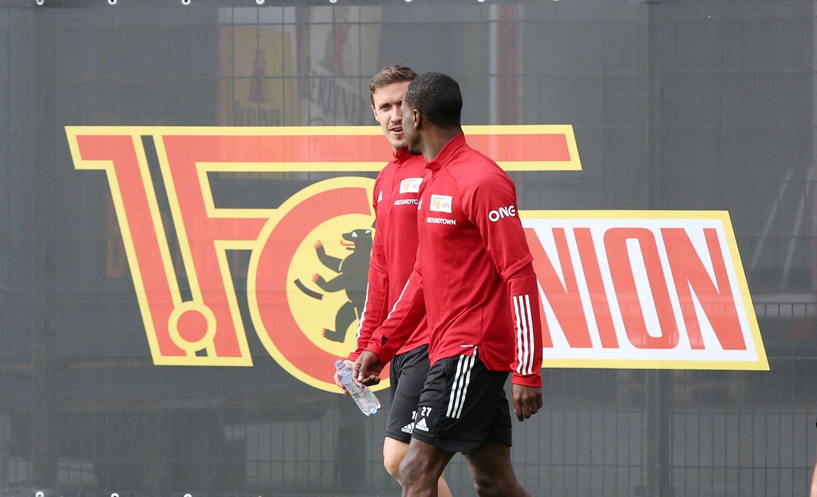 Max Kruse, Sheraldo Becker / / Fußball Fussball / Training / 1.Bundesliga Herren DFL / Saison 2020/2021 / 02.09.2020 /