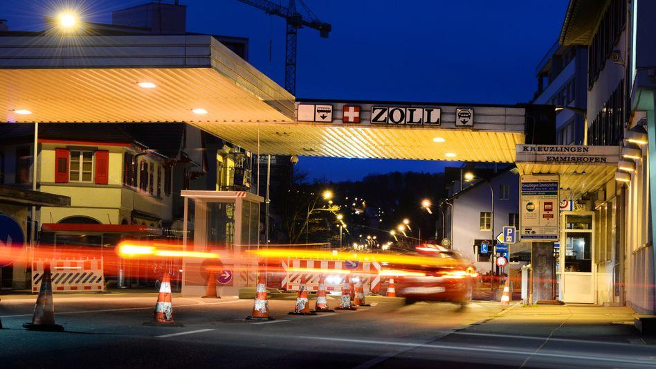Schweizer Grenzübergang in Konstanz