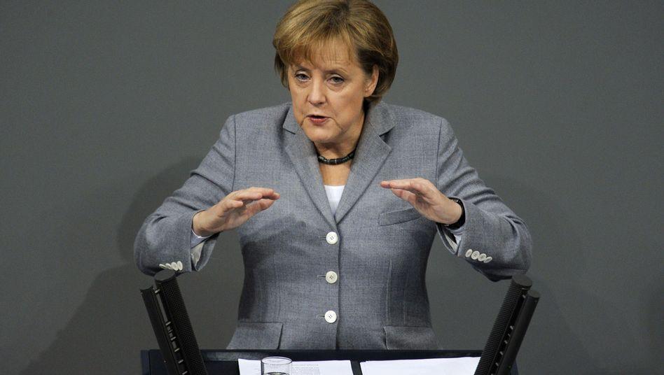 """Kanzlerin Merkel: """"Das Recht auf freie Meinungsäußerung darf nicht unterdrückt werden"""""""