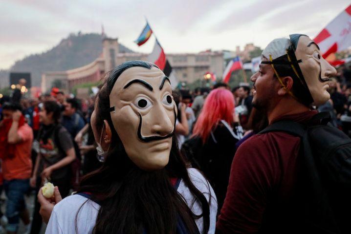 Proteste in Chile im Oktober 2019: Die Gründe für die Krise bestehen weiter
