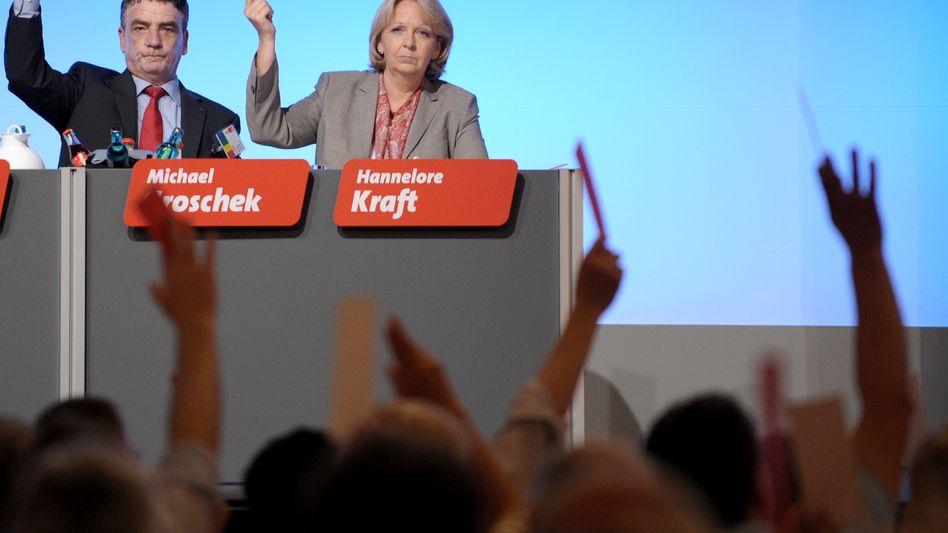 SPD-Landeschefin Kraft: Parteitag stimmt für rot-grüne Koalition
