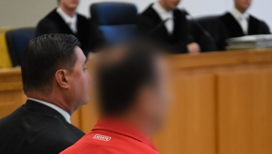 Nedzad A. vor dem Landgericht Gießen